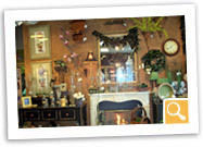 Hundreds of decorative items and gifts are beautifully displayed at Rebel Hill Florist.