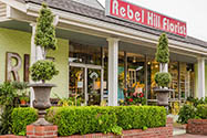 Rebel Hill Florist is conveniently located near the intersection of I-65 and Harding Road.