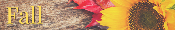 Autumn Floral Specials
